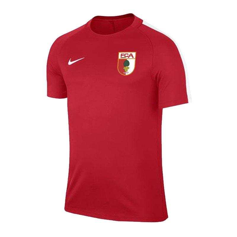 Nike FC Augsburg Trainingsshirt Kids Rot F657 - rot