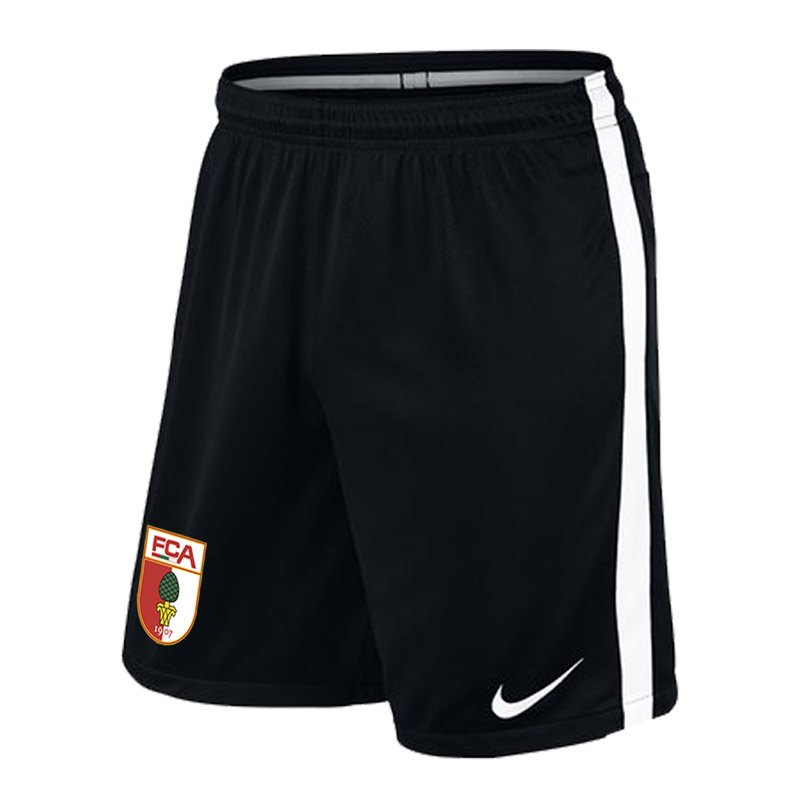 Nike FC Augsburg Trainingsshort Kids Schwarz F010 - schwarz