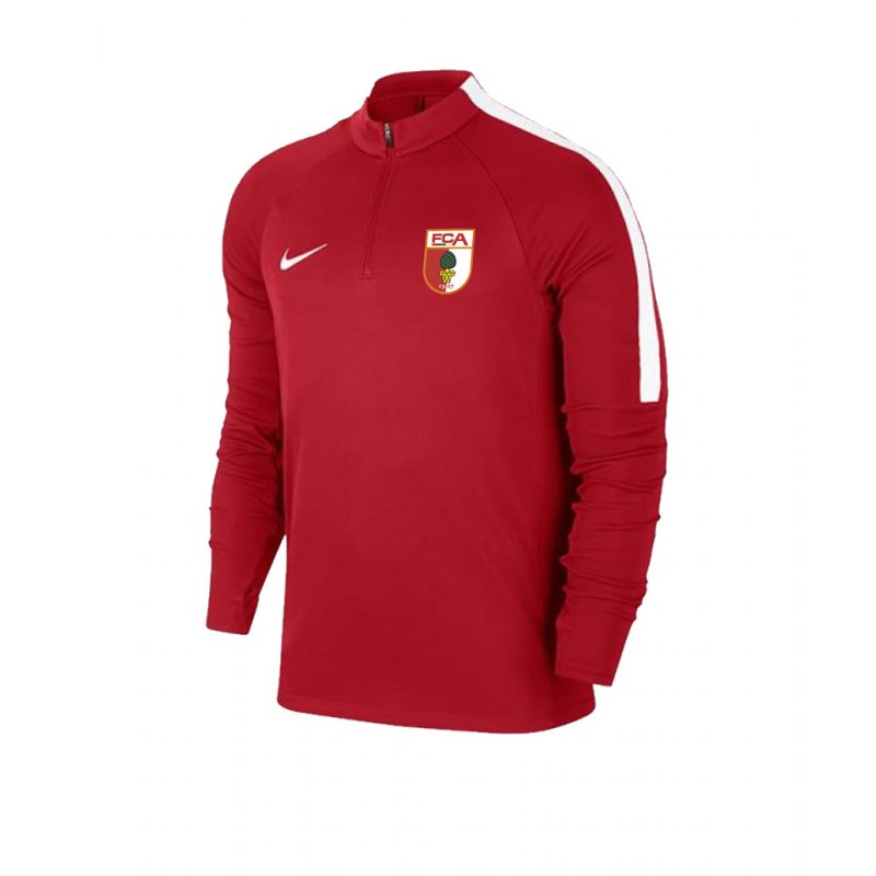 Nike FC Augsburg Trainingssweat Kids Rot F657 - rot