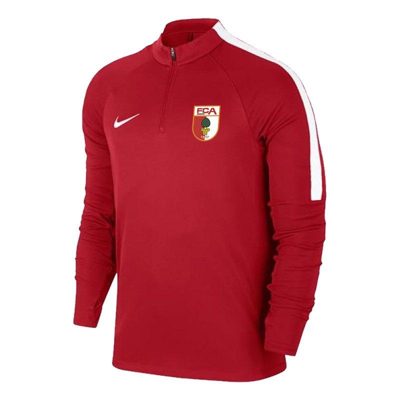 Nike FC Augsburg Trainingssweat Rot F657 - rot