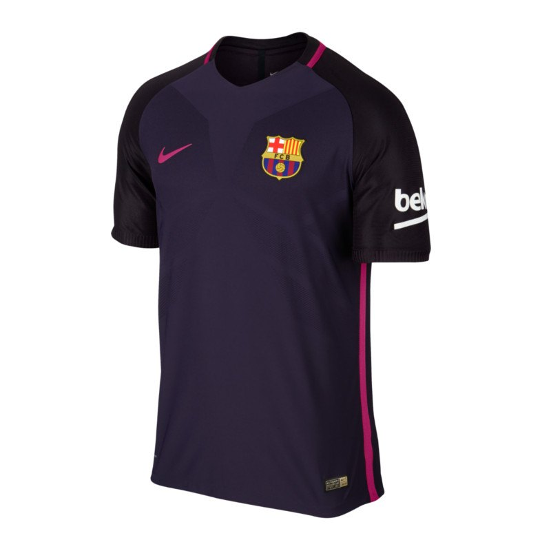nike fc barcelona authentic trikot away 16 17 f525 ausw rtstrikot kurzarm jersey. Black Bedroom Furniture Sets. Home Design Ideas