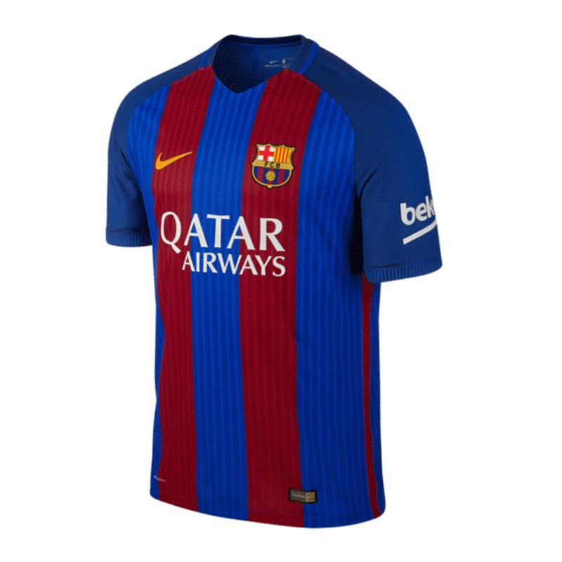 nike fc barcelona authentic trikot home 16 17 f415 heimtrikot kurzarm jersey fanartikel. Black Bedroom Furniture Sets. Home Design Ideas