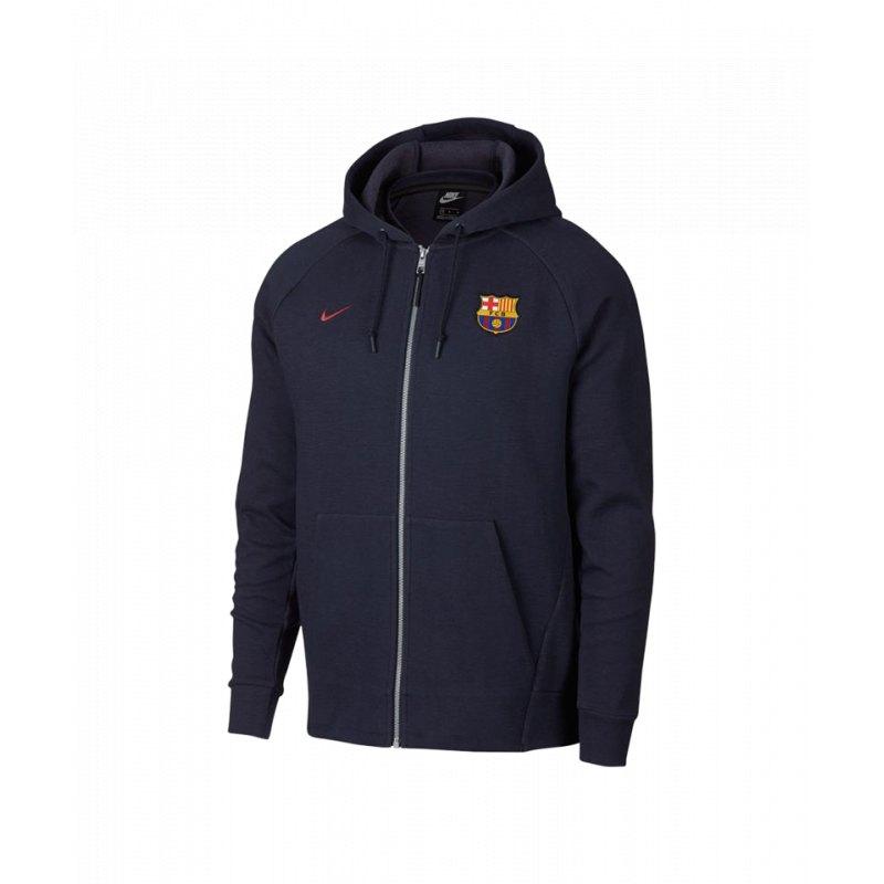 Nike FC Barcelona Optic Kapuzenjacke Blau F451
