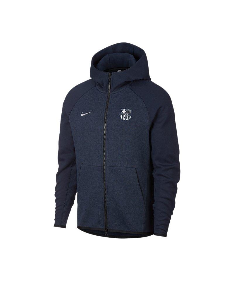 Nike FC Barcelona Tech Fleece Kapuzenjacke F451