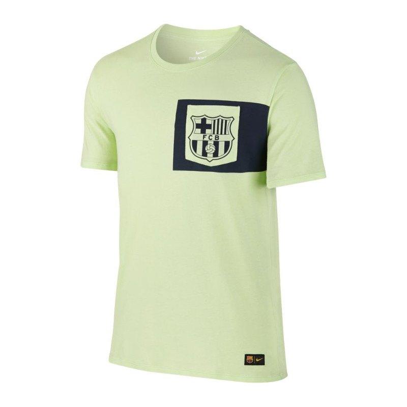 nike fc barcelona tee t shirt gelb f344 kurzarm shortsleeve fanshop fanshirt primera. Black Bedroom Furniture Sets. Home Design Ideas