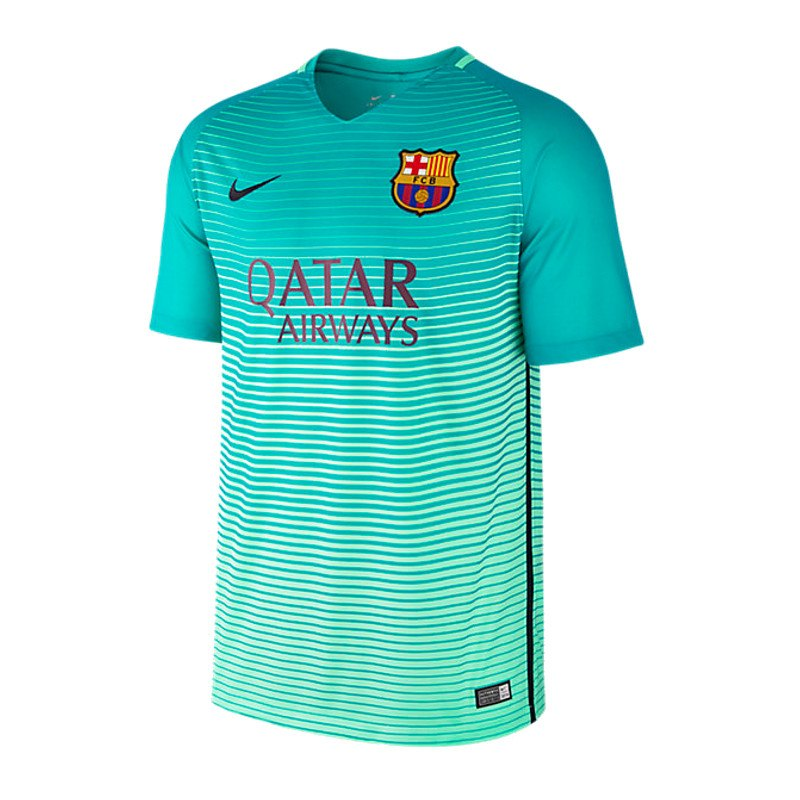 Nike fc barcelona trikot ucl 2016 2017 t 252 rkis f390 champions league
