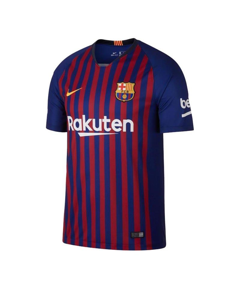 Nike FC Barcelona Trikot Home 2018/2019 Blau F456