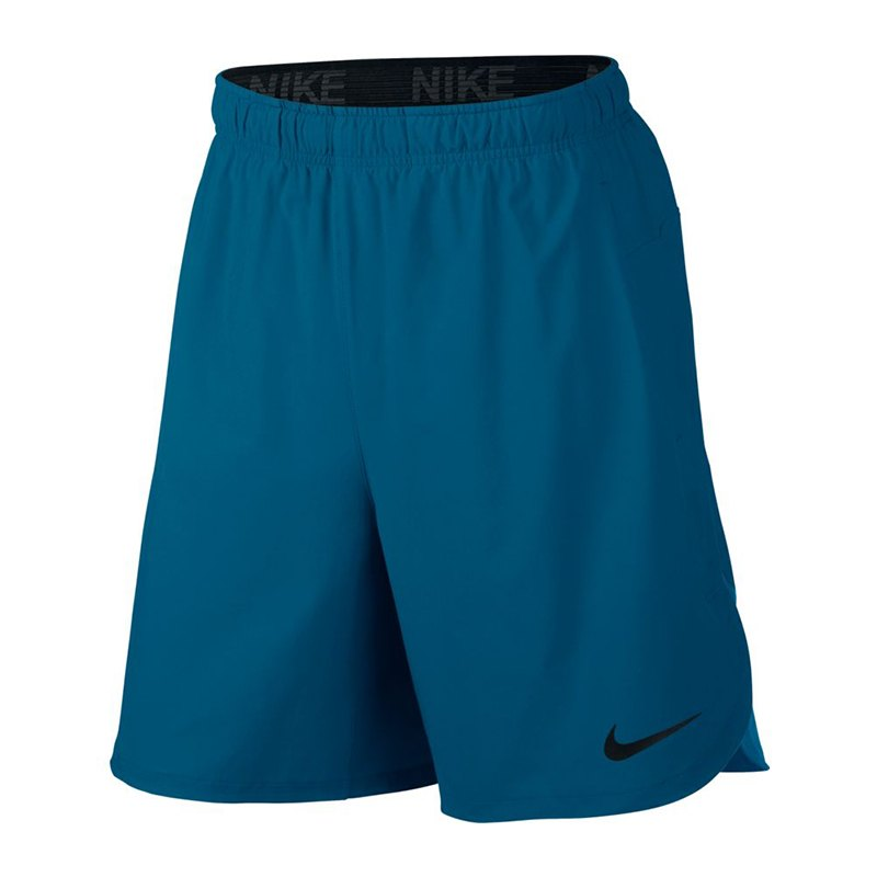 nike flex training short hose kurz blau f457. Black Bedroom Furniture Sets. Home Design Ideas
