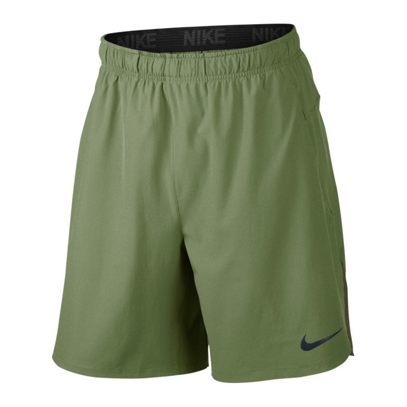 nike flex training short hose kurz khaki f387. Black Bedroom Furniture Sets. Home Design Ideas
