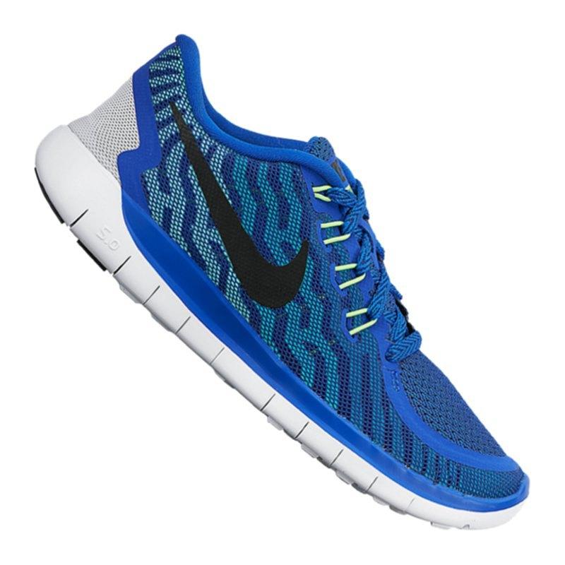 Nike Free 5.0 Herren Blau Gelb