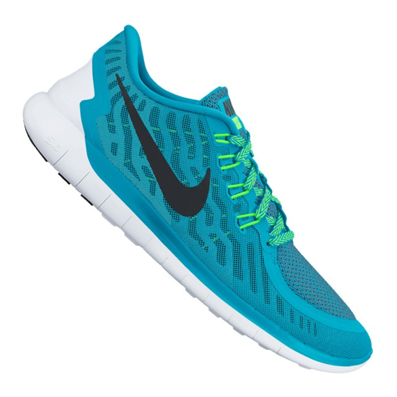 nike free 5 0 running damen blau f403 laufschuh. Black Bedroom Furniture Sets. Home Design Ideas