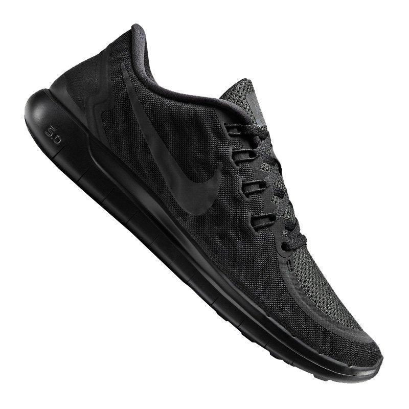 Nike Free 5.0 Schwarz Anthrazit