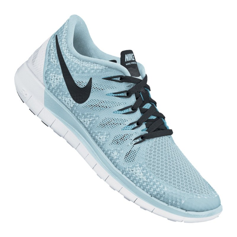 nike free 5 0 running wmns blau f402 runningschuh. Black Bedroom Furniture Sets. Home Design Ideas