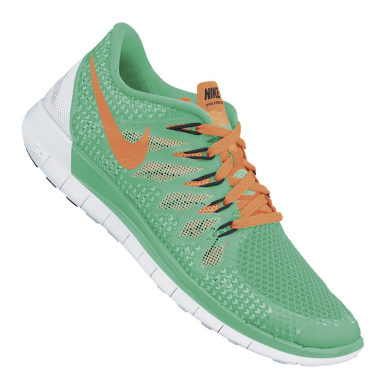 Nike Free Grau Grün Damen