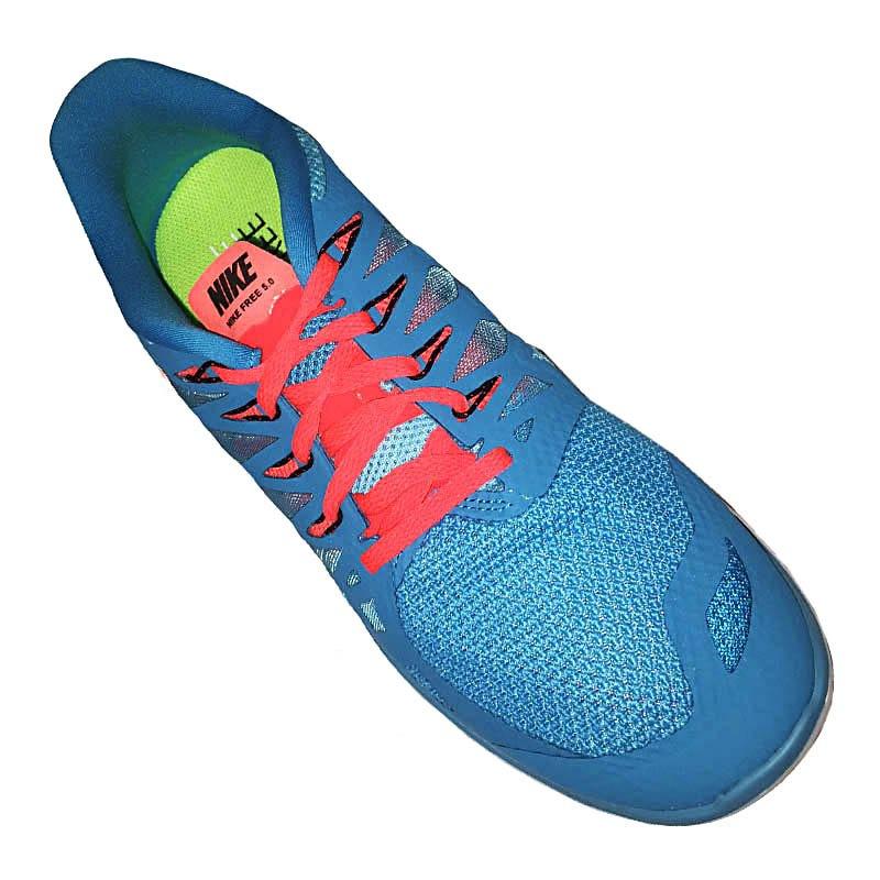 Nike Free Rot Blau