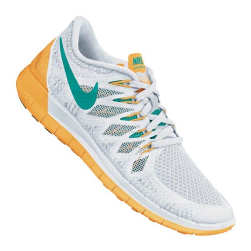 Nike Free Weiß Orange