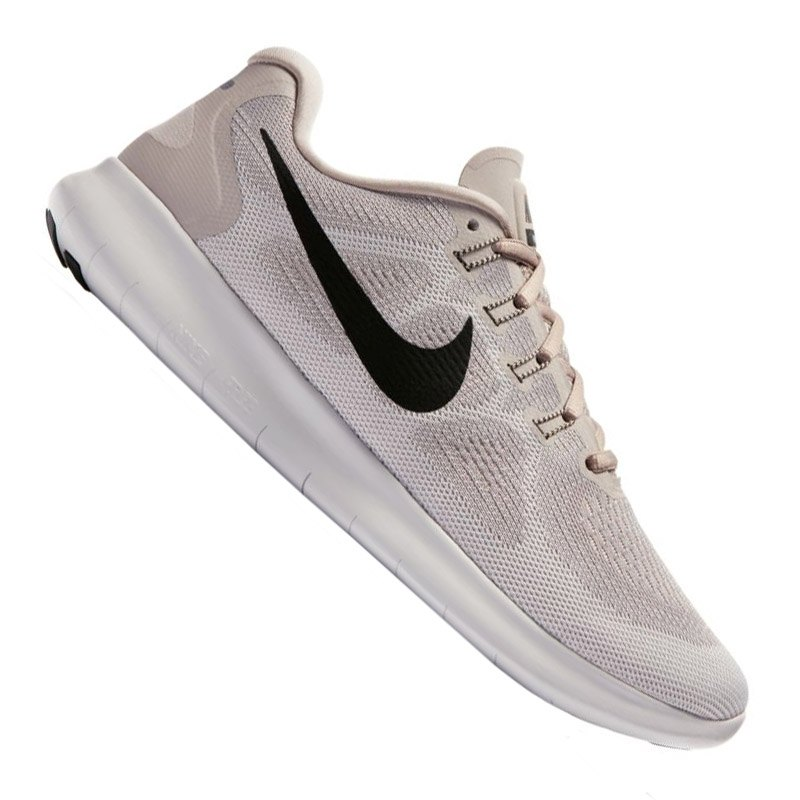 nike free rn 2017 running damen beige f200 laufschuh. Black Bedroom Furniture Sets. Home Design Ideas