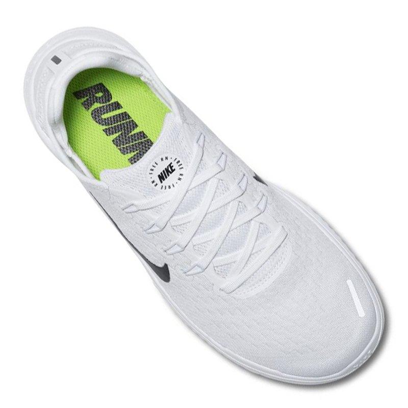 Nike Free RN 2018 Running Damen Weiss Schwarz F100   Laufen   Joggen ... 1e9c7a4a40