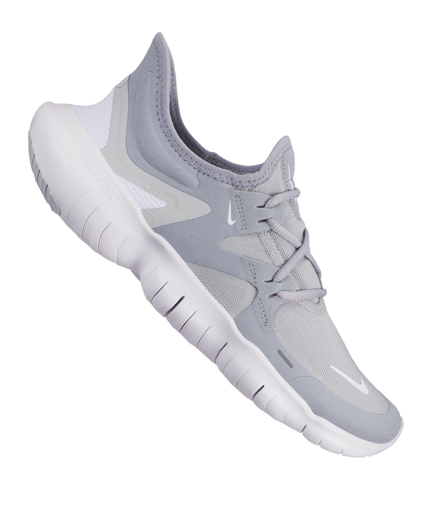 Nike Free RN 5.0 Running Damen Grau WeissF001