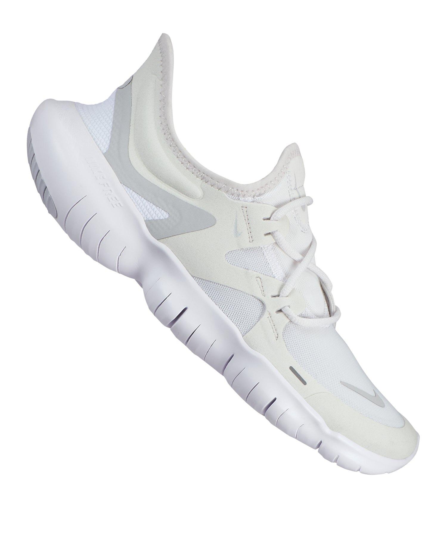 Nike Free RN 5.0 Running Damen Weiss F002
