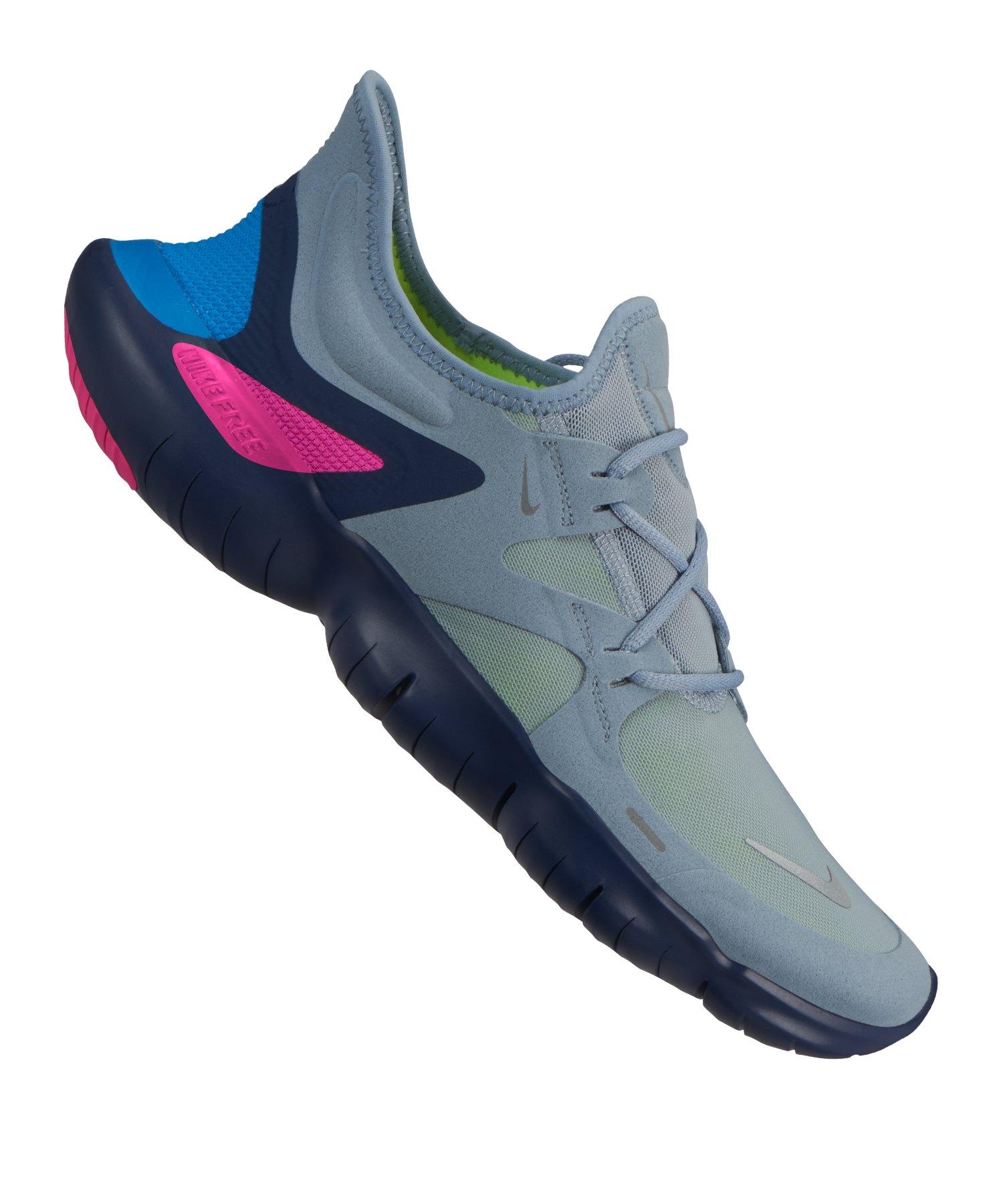 online store 86913 9f423 Nike Free RN 5.0 Running Grau F400