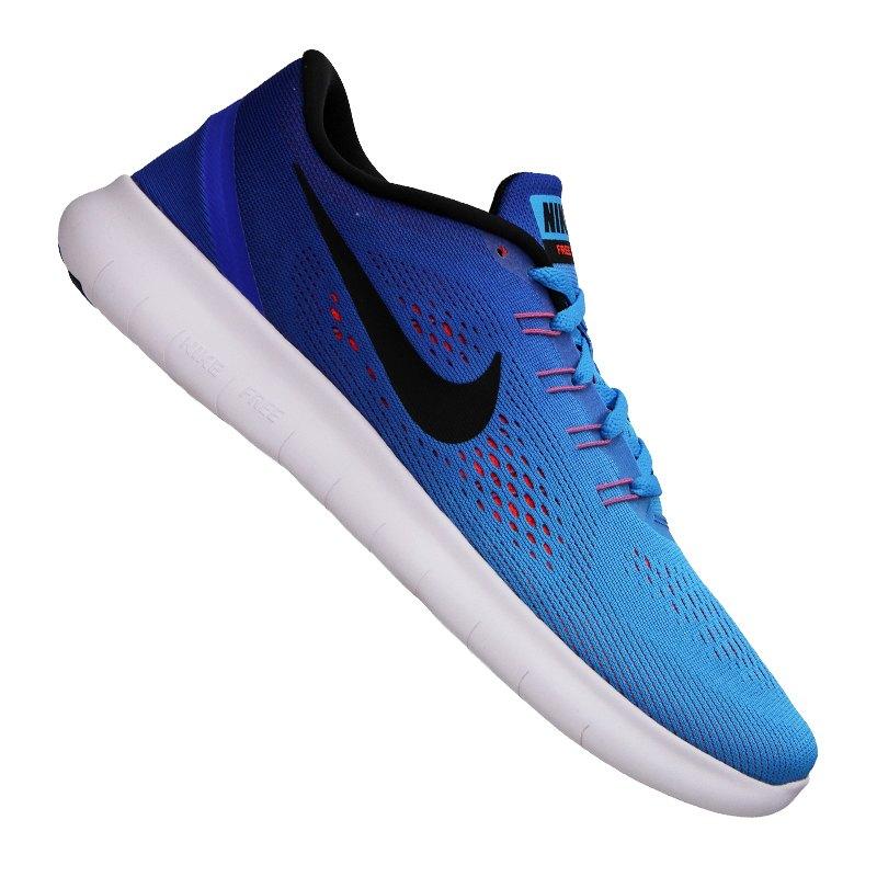 Nike Free Run Blau Weiß