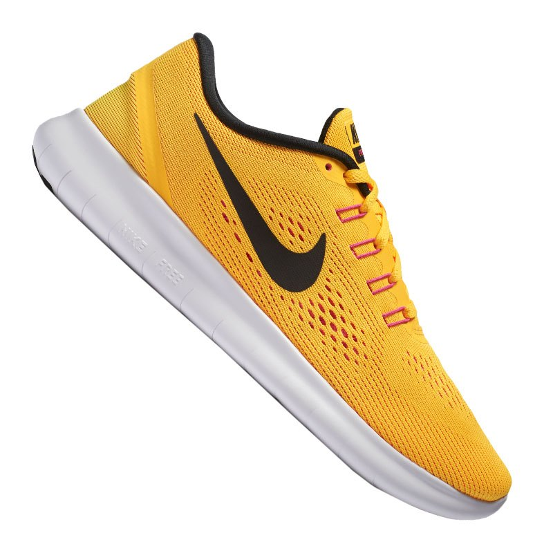 nike free run damen orange schwarz f800 laufschuh shoe. Black Bedroom Furniture Sets. Home Design Ideas
