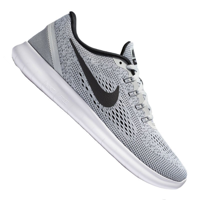 nike free run damen weiss schwarz f101 laufschuh shoe. Black Bedroom Furniture Sets. Home Design Ideas