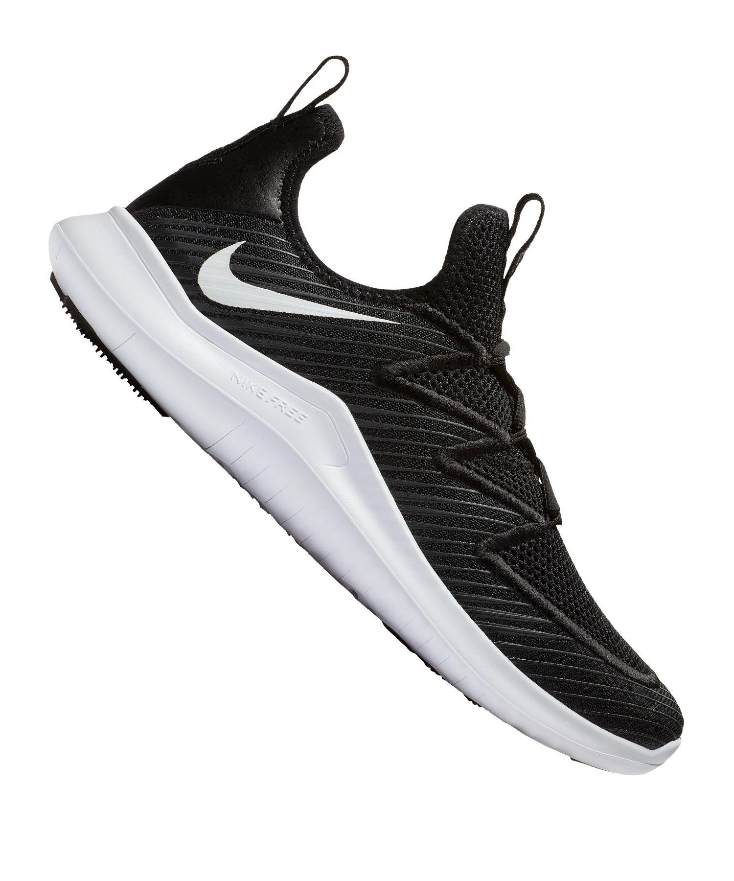 promo code 70da2 645f2 Nike Free TR 9 Training Schwarz Weiss F010 - schwarz