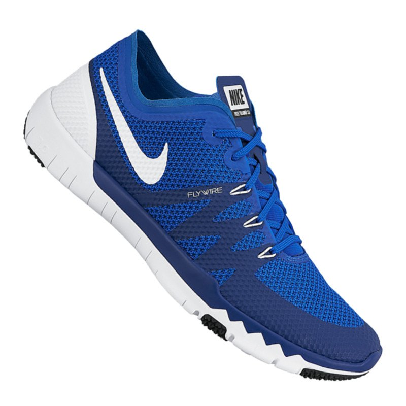 nike free trainer 3.0 running blau gelb