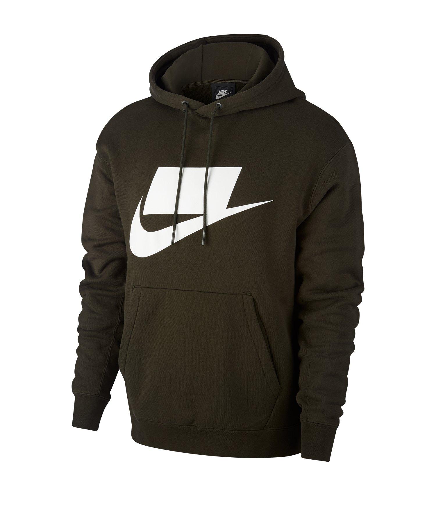 Nike Sweatshirt mit RUSH SOCCER Logo 100% Baumwolle