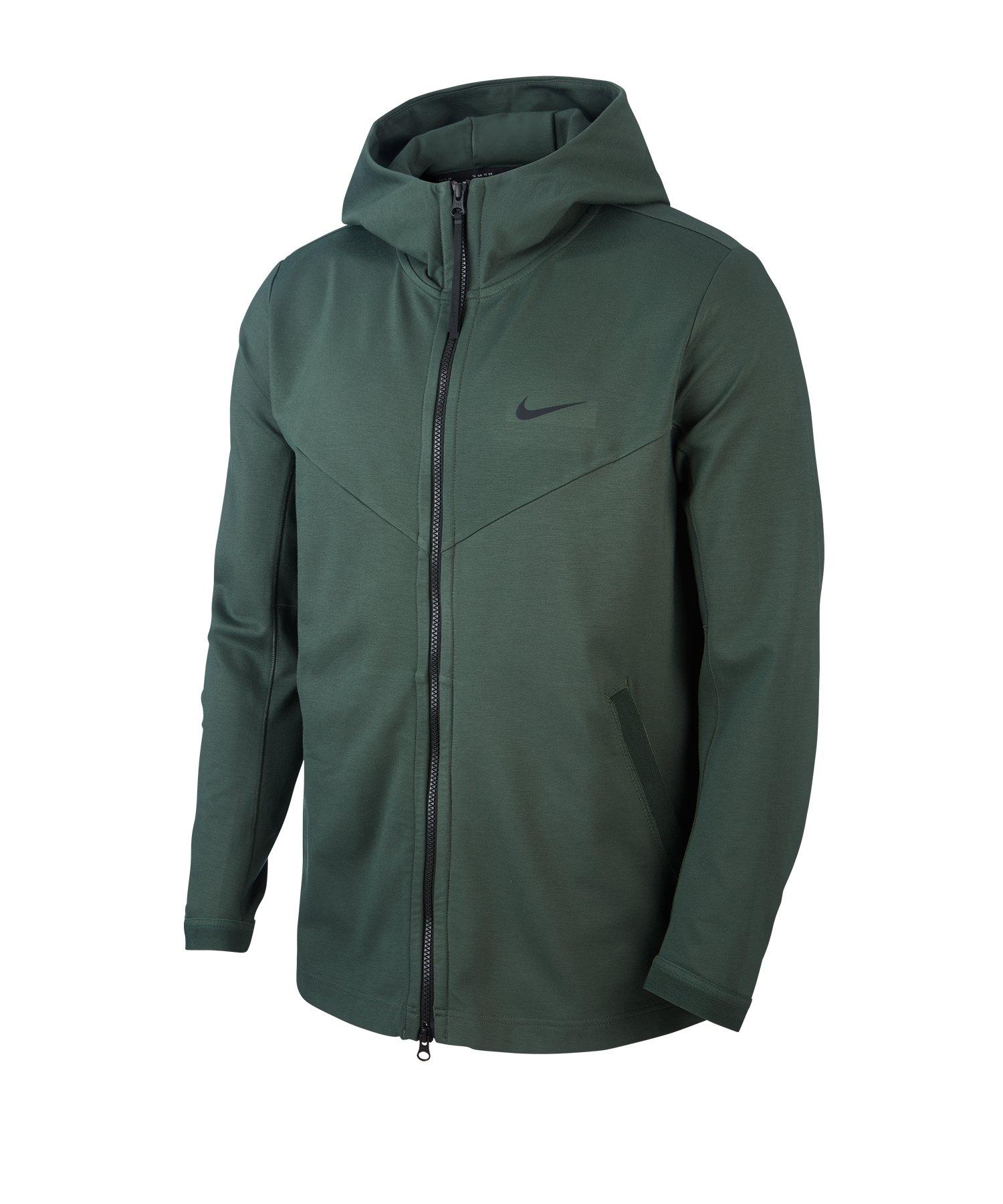 Nike F.C. Jacket Jacke Herren Kurzmantel Übergangsjacke Grün