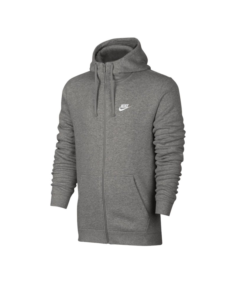 Nike Fullzip Kapuzenjacke Grau F063   Lifestyle   Freizeitbekleidung ... cade64fd4d