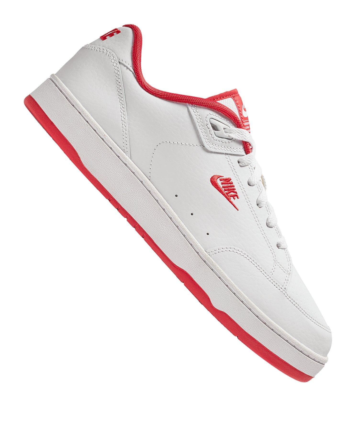 Nike Grandstand II Sneaker Weiss Rot F104 |Streetstyle | Freizeit ...