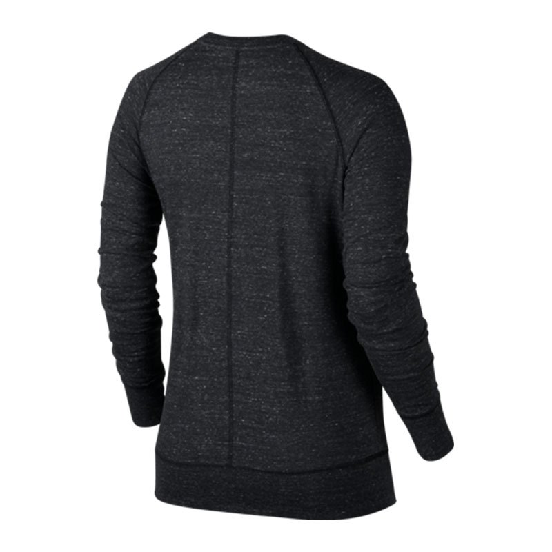 nike gym vintage crew sweatshirt damen grau f060 langarmshirt pullover lifestyle. Black Bedroom Furniture Sets. Home Design Ideas