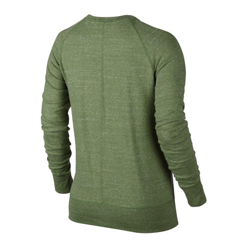 nike gym vintage crew sweatshirt damen gr n f387 langarmshirt pullover lifestyle. Black Bedroom Furniture Sets. Home Design Ideas