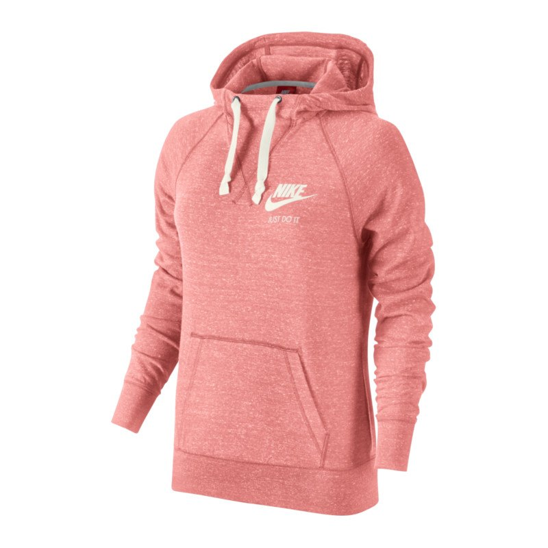 nike gym vintage hoody sweatshirt damen rosa f808. Black Bedroom Furniture Sets. Home Design Ideas
