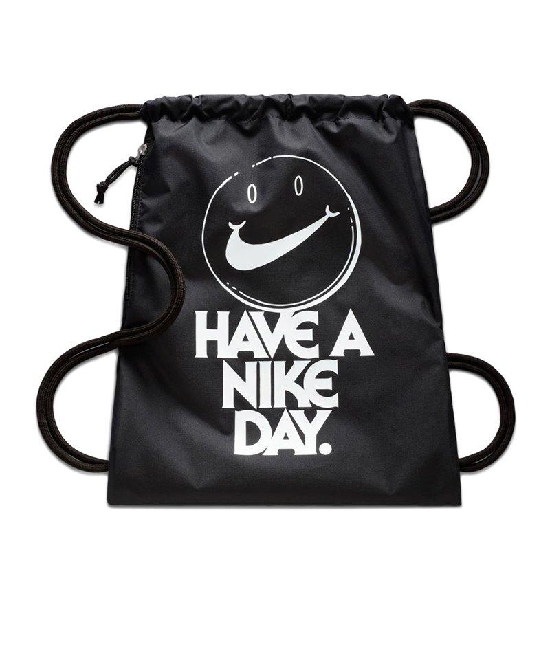 5ec80470c8110 Nike Heritage Gymsack Sportbeutel Schwarz F015 - schwarz
