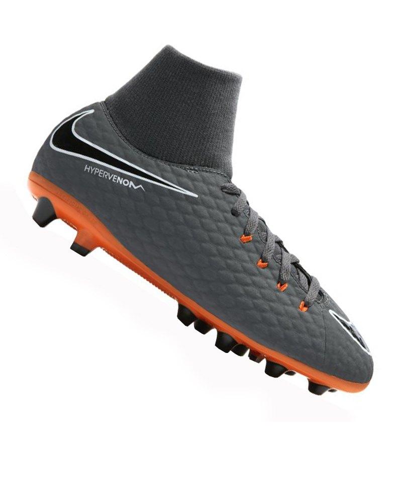 Nike Jr. Hypervenom Phelon III Dynamic Fit FG Kinder blau 32 4ZewdyR3SU