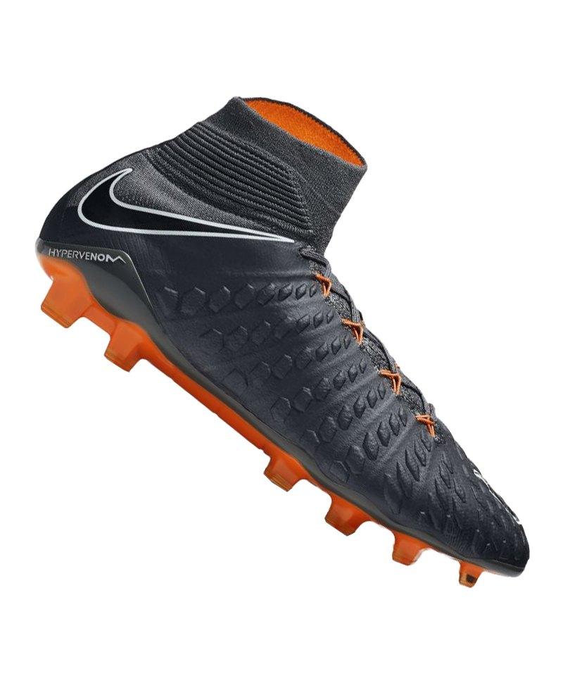 hot sale online 85870 7d188 Nike Hypervenom Phantom III Elite DF FG Grau F081 - Grau