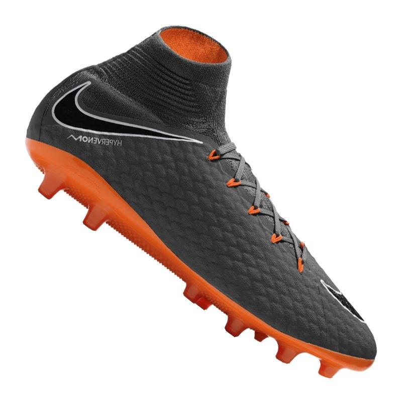 newest 01950 75fa7 Nike Hypervenom Phantom III Pro DF AG-Pro F081 - Grau