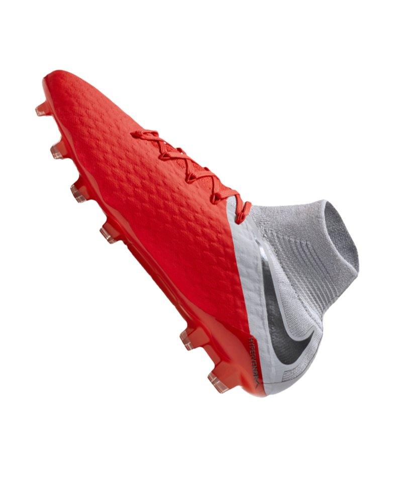 95b5a3a97 ... Nike Hypervenom Phantom III Pro DF FG Rot F600 - rot ...