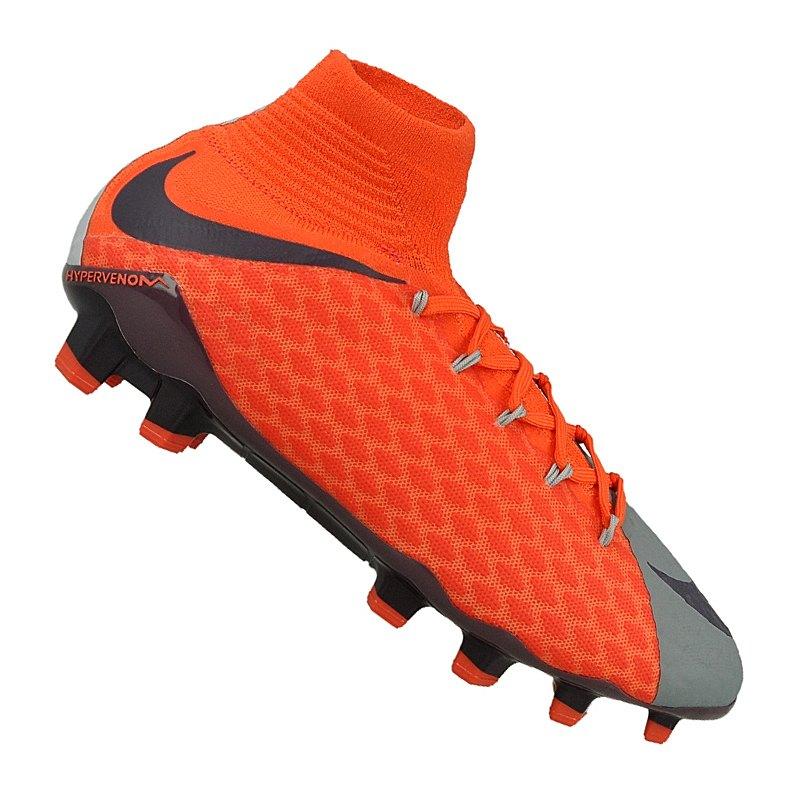 Nike Hypervenom Grau Orange