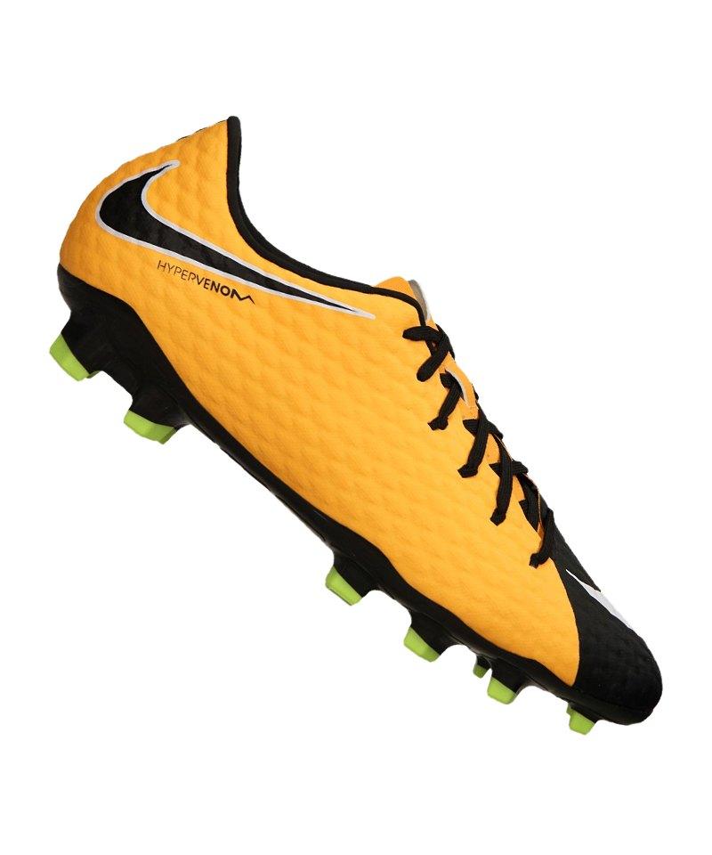 Details zu Nike Hypervenom Phelon Grau Orange Halle Größe 45 (UK 11) (US 11,5)