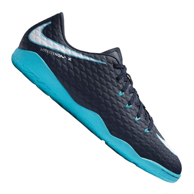 3f2df2584 Nike Hypervenom Phelon III IC Blau F414 | Halle | Indoor | Fußball ...