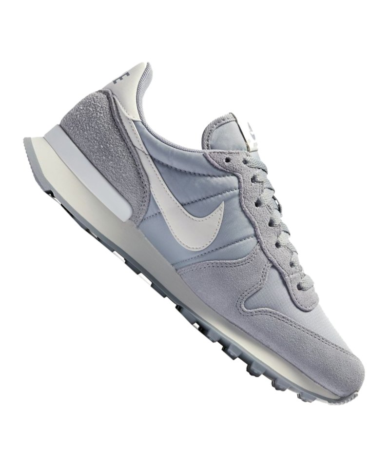 new style 97661 0ecc2 Nike Internationalist Sneaker Damen Grau F023