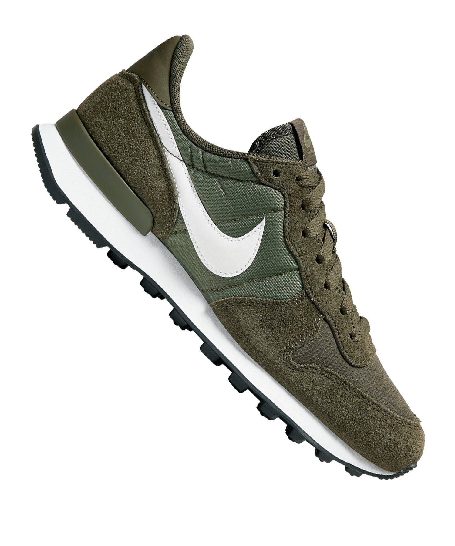 Nike Internationalist Premium Herren Olivgrün Sneaker | Online