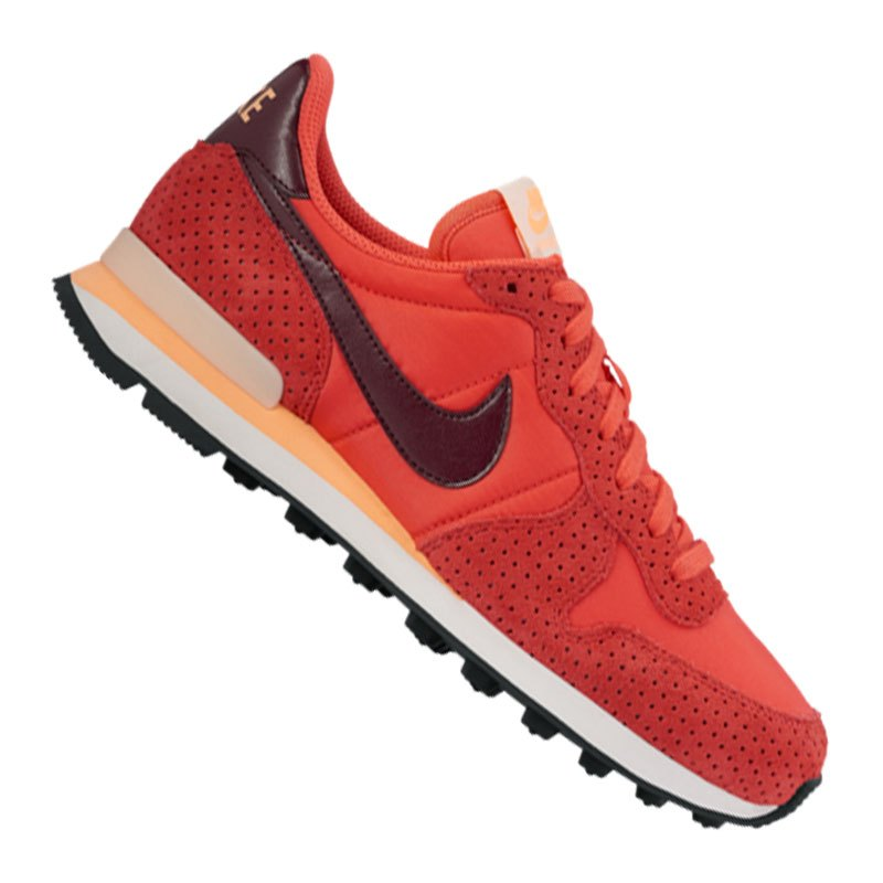 nike internationalist sneaker damen orange f800 freizeit. Black Bedroom Furniture Sets. Home Design Ideas