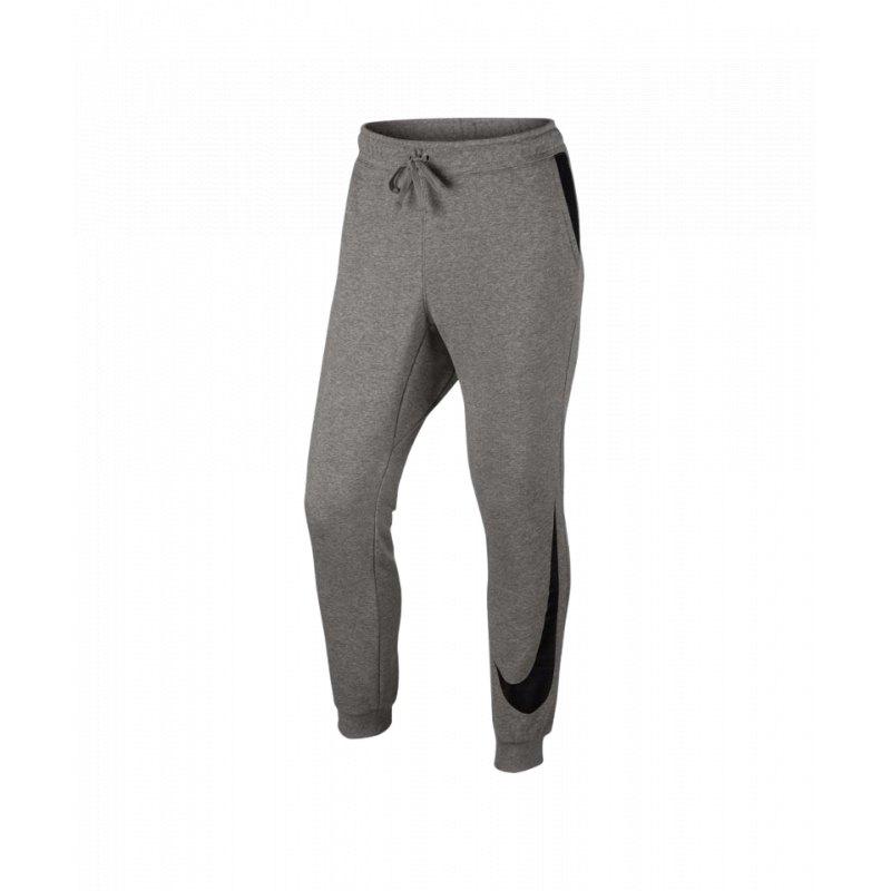 nike jogger hose lang jogginghose grau f063 lifestyle. Black Bedroom Furniture Sets. Home Design Ideas