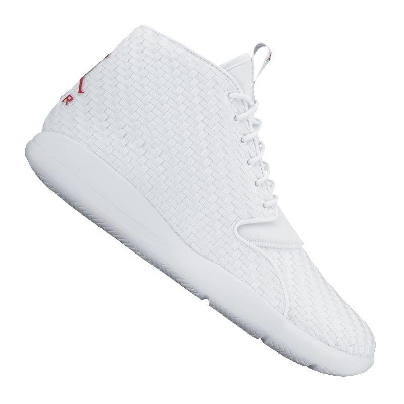 jordan eclipse chukka sneaker weiss rot f101 lifestyle. Black Bedroom Furniture Sets. Home Design Ideas